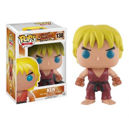 BONECO FUNKO POP STREET FIGHTER - KEN 138