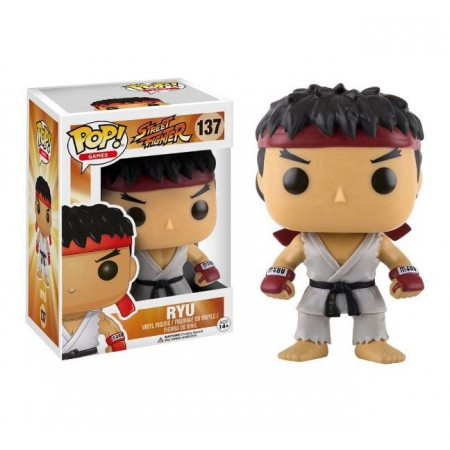 BONECO FUNKO POP STREET FIGHTER - RYU 137