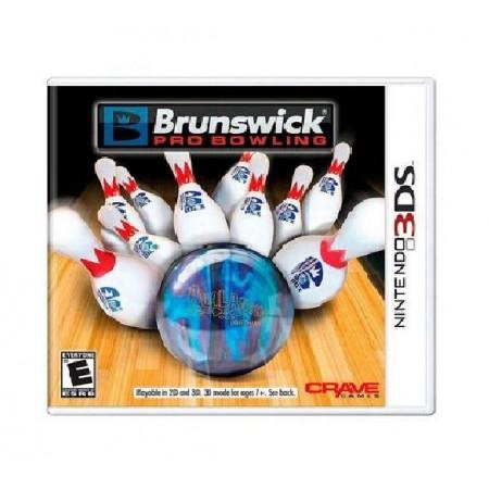 JOGO BRUNSWICK PRO BOWLING 3DS