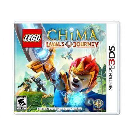 JOGO LEGO CHIMA LAVALS JOURNEY 3DS