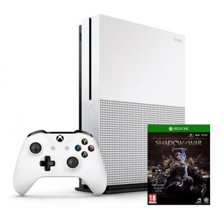 CONSOLE XBOX ONE S 1TB COM SHADOW OF WAR