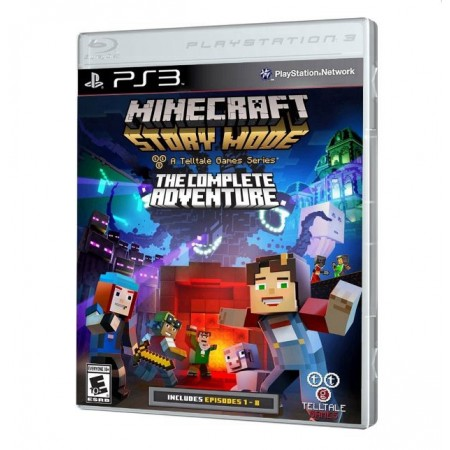 JOGO MINECRAFT STORY MODE THE COMPLETE ADVENTURE PS3