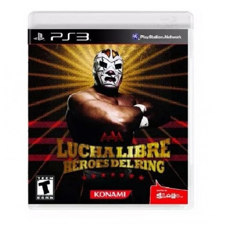 JUEGO LUCHA LIBRE HEROES DEL RING PS3 - Super Games
