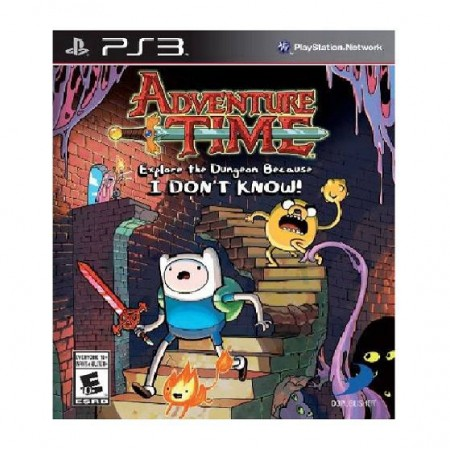 JOGO ADVENTURE TIME EXPLORE THE DUNGEON BECAUSE PS3