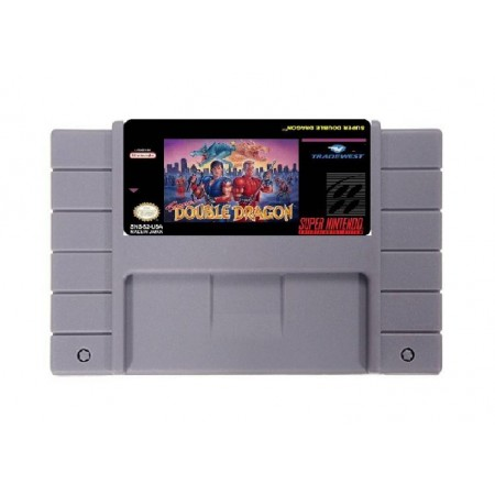 JOGO SUPER DOUBLE DRAGON SUPER NINTENDO