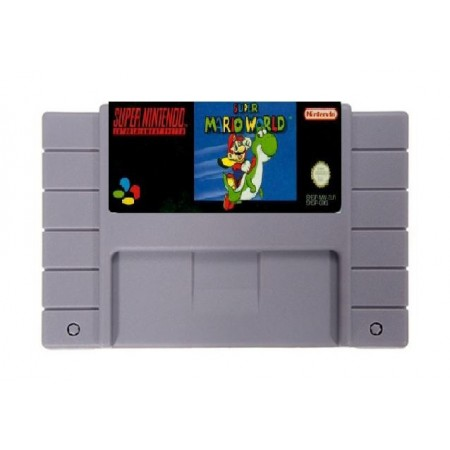 JOGO SUPER MARIO WORLD SUPER NINTENDO