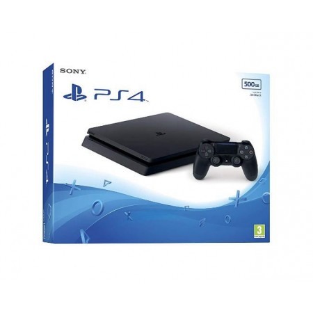 CONSOLE SONY PLAYSTATION 4  SUPER SLIM MODELO 2106 500GB PRETO JAPONES