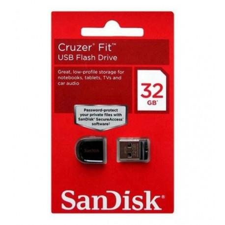 PENDRIVE SANDISK Z33 CRUZER FIT 32GB