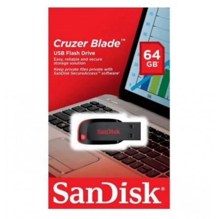 PENDRIVE SANDISK Z50 CRUZER BLADE 64GB