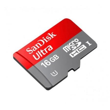 CARTÃO DE MEMÓRIA SANDISK MICRO SDHC 16GB/48MBS COM ADAPTADOR CLASSE 10