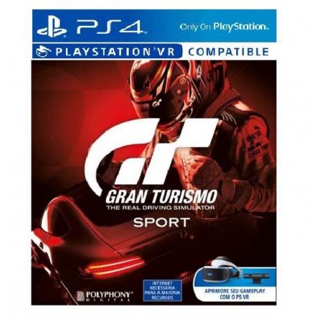 Juego Gran Turismo Sport Vr Ps4 Embalage Carton Super Games