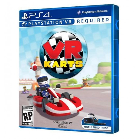 Juego Vr Karts Ps4 Super Games
