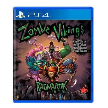 JOGO ZOMBIE VIKINGS RAGNAROK EDITION PS4
