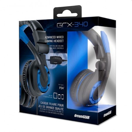 HEADSET DREAMGEAR GRX-340 PS4