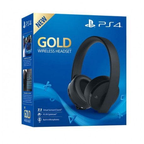HEADSET SONY GOLD NEW CUHYA-0080 PS4
