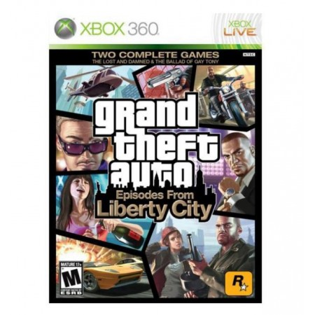 JOGO GRAND THEFT AUTO FROM LIBERTY CITY GTA XBOX 360