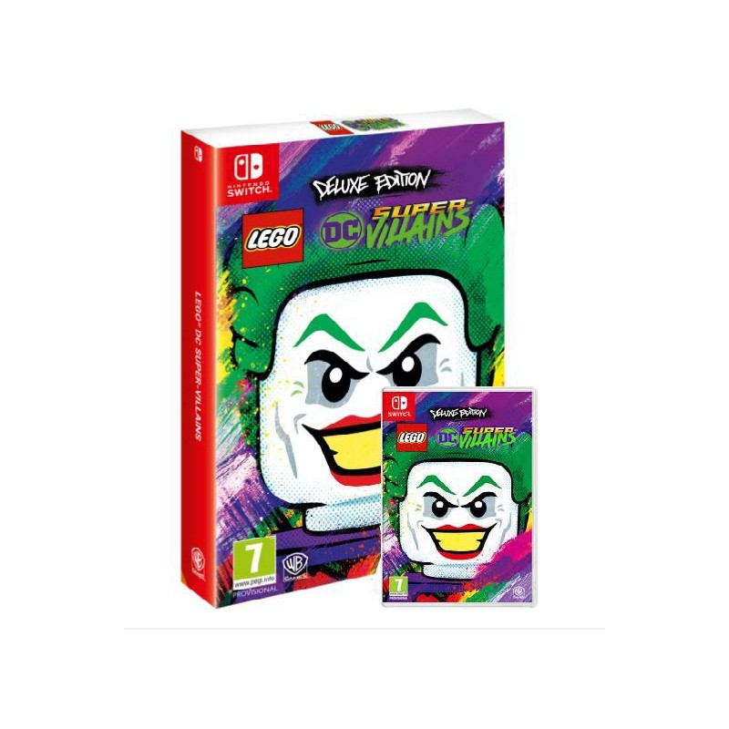 Juego Lego Dc Super Villains Deluxe Edition Nintendo Switch Super