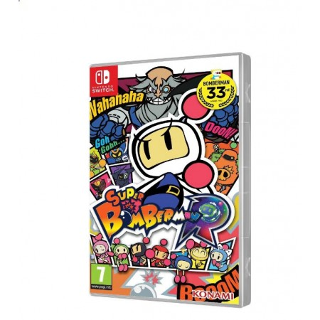 JOGO SUPER BOMBERMAN R SWITCH