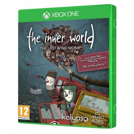 JOGO THE INNER WORLD THE LAST WIND MONK XBOX ONE