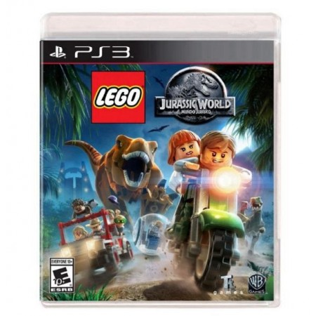 JOGO LEGO JURASSIC WORLD PS3