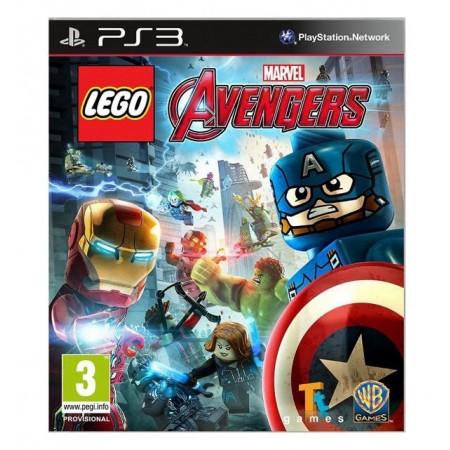 JOGO LEGO MARVEL AVENGERS PS3