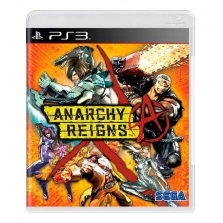 JOGO ANARCHY REIGNS PS3
