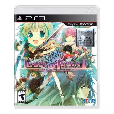 JOGO TEARS TO TIARA II HEIR OF THE OVERLORD PS3