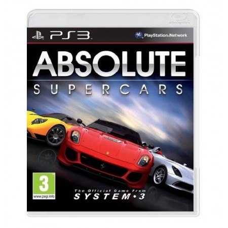 JOGO ABSOLUTE SUPERCARS PS3