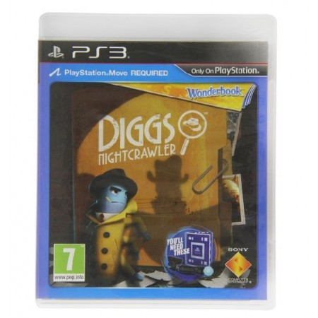 JOGO WONDERBOOK DIGGS NIGHTCRAWLER PS3