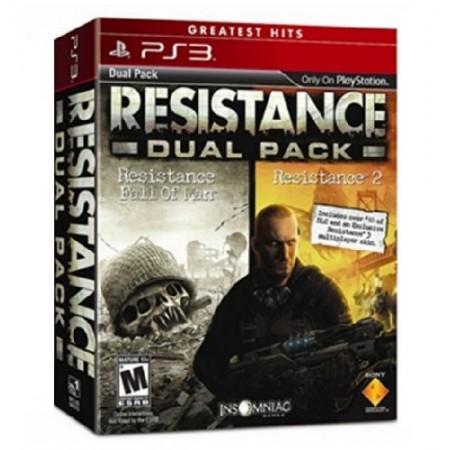 JOGO RESISTANCE DUAL PACK PS3
