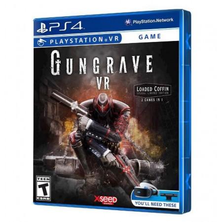 JOGO GUNGRAVE LOADED COFFIN EDITION VR PS4