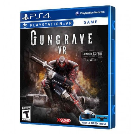 JUEGO GUNGRAVE LOADED COFFIN EDITION VR PS4