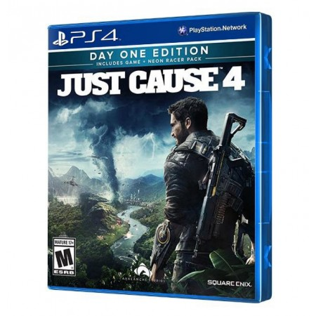 JUEGO JUST CAUSE 4 DAY ONE EDITION PS4