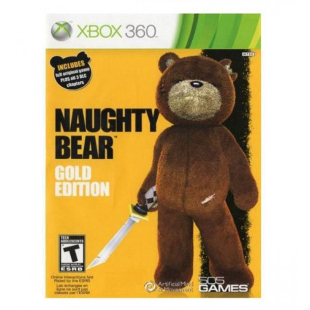 JOGO NAUGHTY BEAR GOLD EDITION XBOX 360