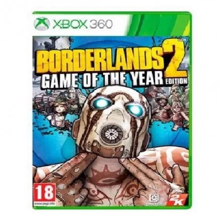 JOGO BORDERLANDS 2 GAME OF YEAR EDITION XBOX 360