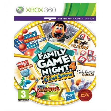 JOGO FAMILY GAME NIGHT 4 XBOX 360