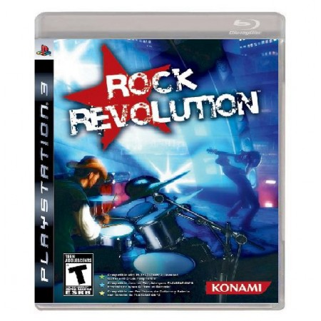 JOGO ROCK REVOLUTION PS3