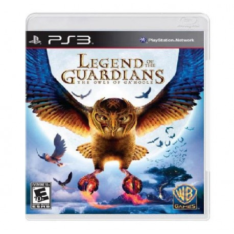 JOGO LEGEND OF THE GUARDIANS THE OWLS OF GA'HOOLE PS3