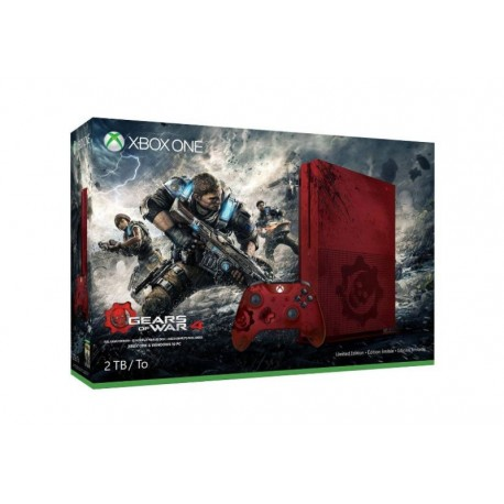 CONSOLE XBOX ONE S 2TB BUNDLE GEARS OF WAR 4