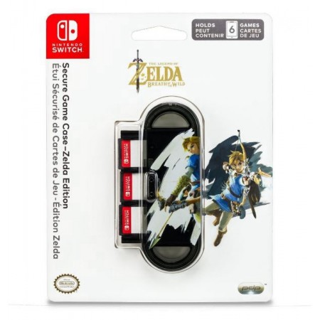 NINTENDO SWITCH AC CASE SEGURE GAME ZELDA EDITION