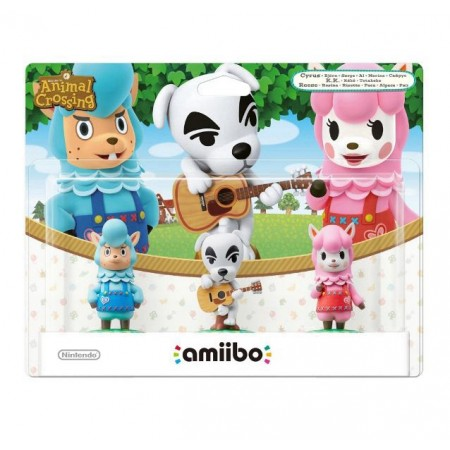 BONECO AMIIBO ANIMAL CROSSING 3X1