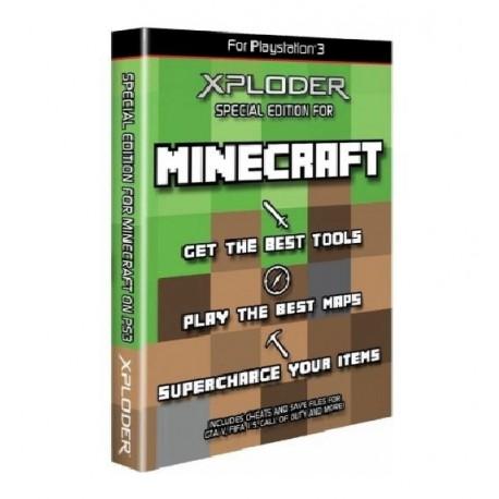 JOGO XPLODER SPECIAL EDITION FOR MINECRAFT PS3