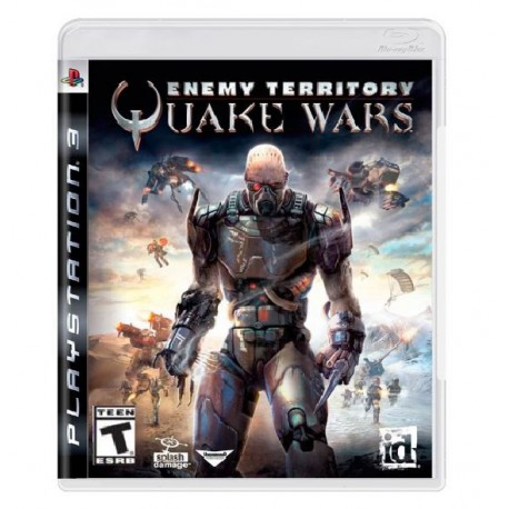 JOGO ENEMY TERRITORY QUAKE WARS PS3