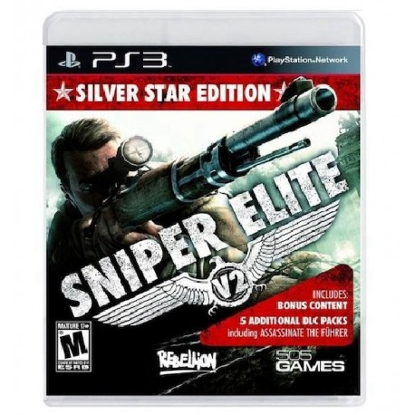 JOGO SNIPER ELITE V2 SILVER STAR EDITION PS3