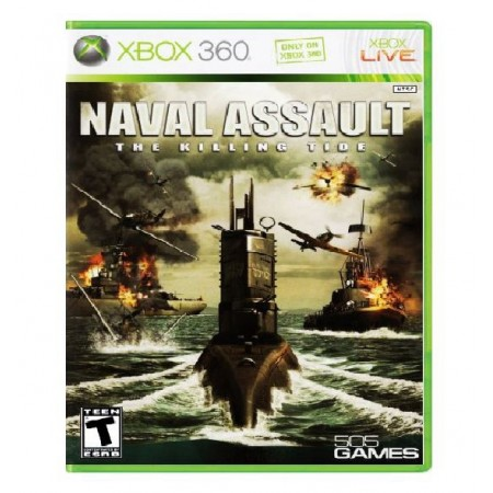 JOGO NAVAL ASSAULT THE KILLING TIDE XBOX 360