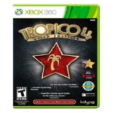 JOGO TROPICO 4 GOLD EDITION XBOX 360