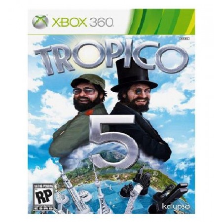 JOGO TROPICO 5  XBOX 360