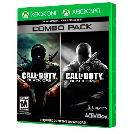 JOGO CALL OF DUTY BLACK OPS COMBO PACK XBOX ONE