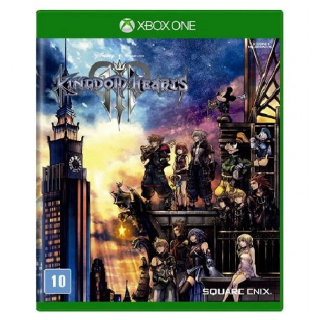 JOGO KINGDOM HEARTS III XBOX ONE