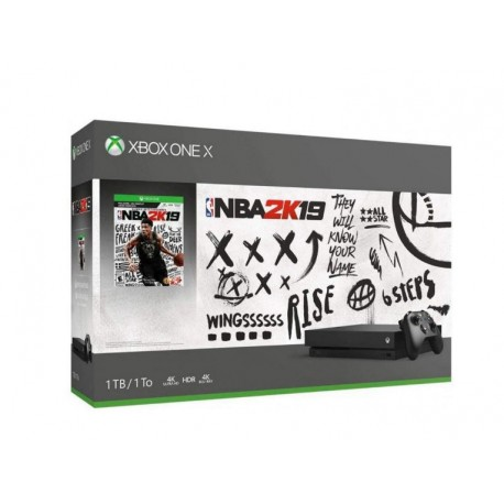 CONSOLE XBOX ONE X 1TB BUNDLE NBA 2K19 - PRETO
